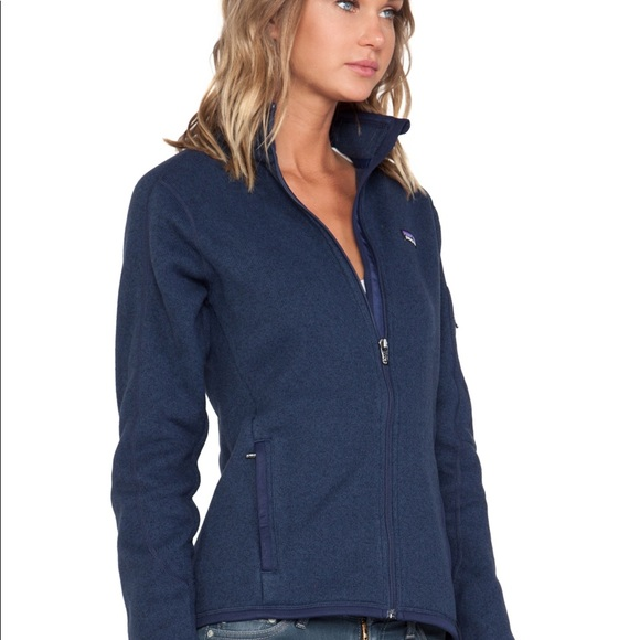 Patagonia Better Sweater Jacket in Navy